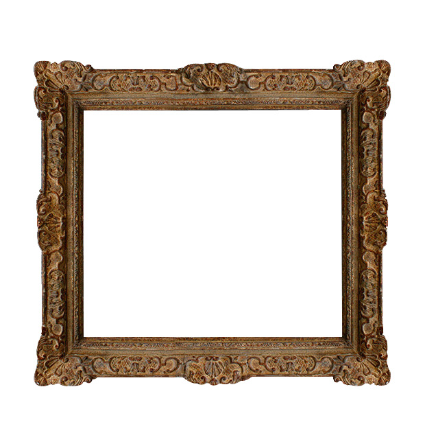 Antique French frame Montparnasse style
