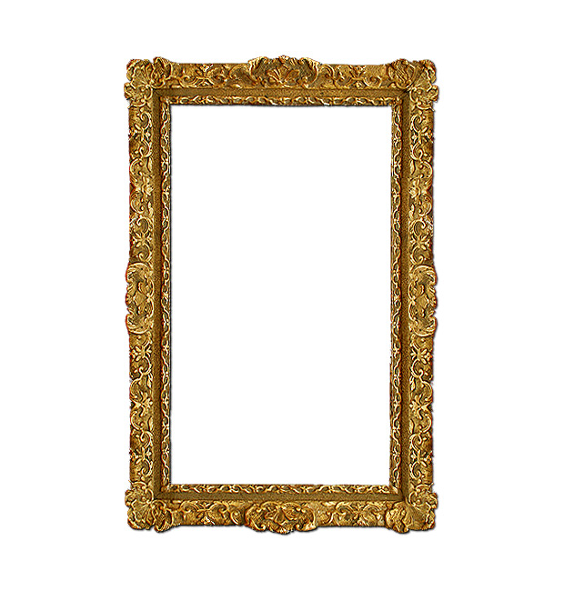 Antique french gilt frame, Louis XIV style