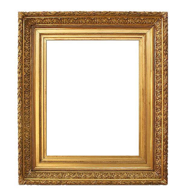 Antique gilt frame, Barbizon French Style