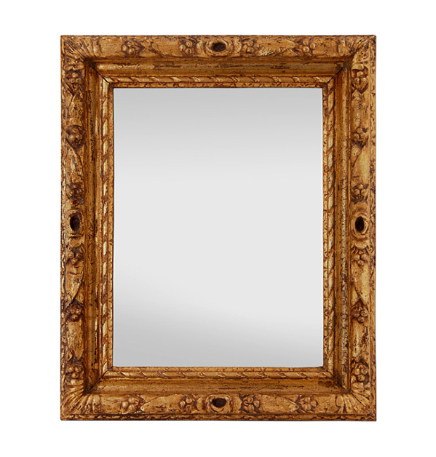Carved gilt wood mirror frame, circa 1930