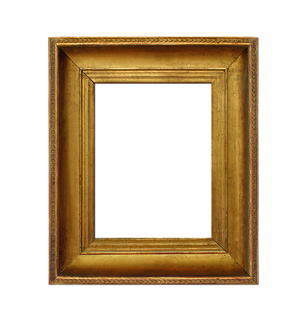 French antique gilt frame, late 19th century