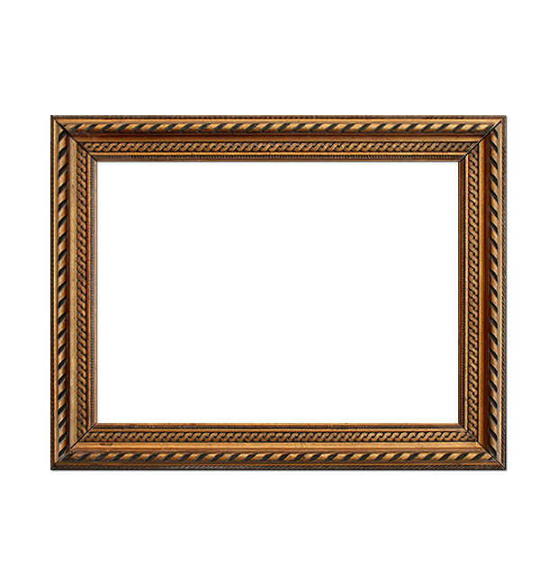 French gilt frame in stucco, circa 1930