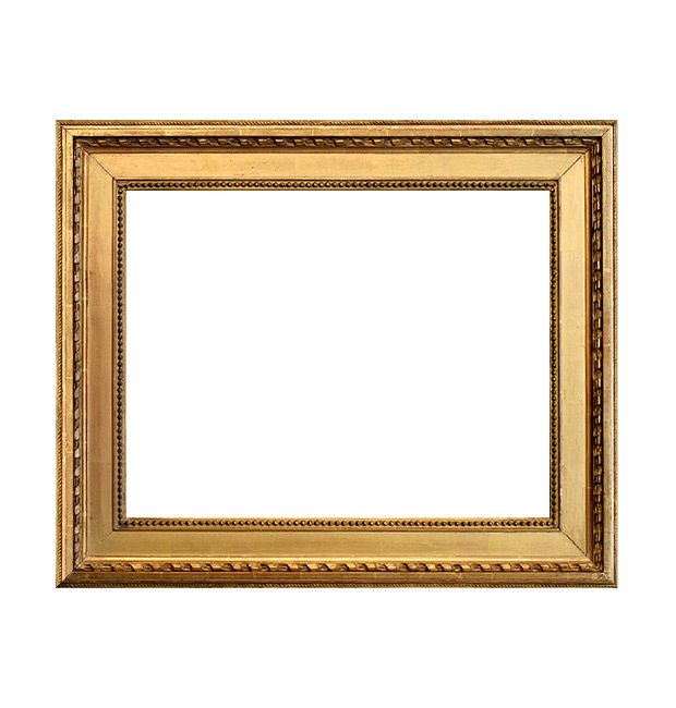 Italian antique gilt frame